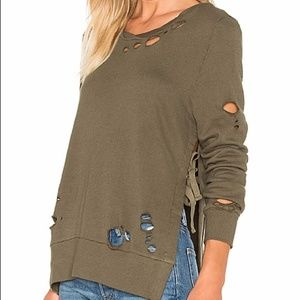 Pam & Gela Sweater with holes, XS